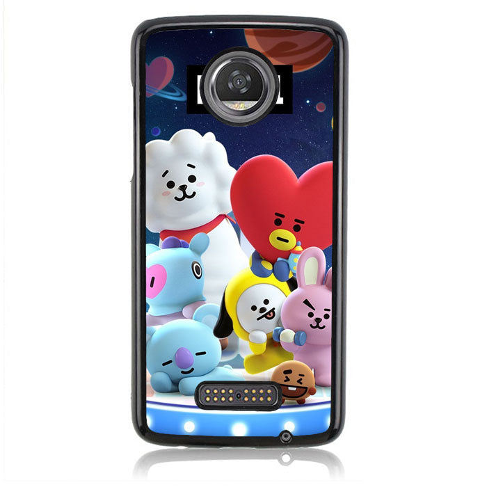 BT21 B0183 Motorola Moto Z2 Play Case