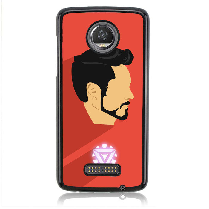 TONY STARK B0196 Motorola Moto Z2 Play Case