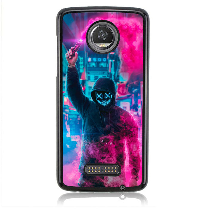 MASK GUY B0201 Motorola Moto Z2 Play Case