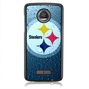 STEELERS LOGO WATER B0238 Motorola Moto Z2 Play Case