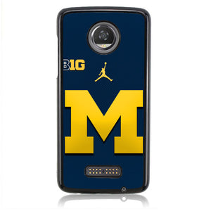 Michigan Logo B0288 Motorola Moto Z2 Play Case