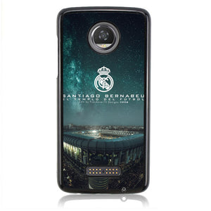 Real Madrid Satiago Bernabeu B0309 Motorola Moto Z2 Play Case