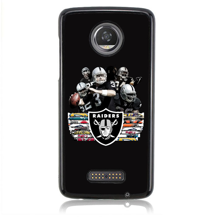 Raiders Team B0337 Motorola Moto Z2 Play Case