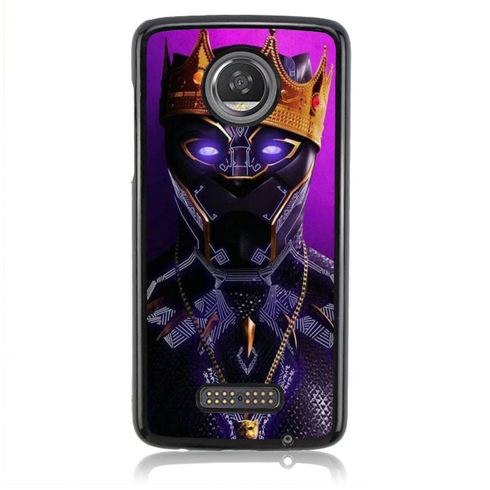 Black Panther B0377 Motorola Moto Z2 Play Case