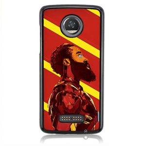 James Harde Iron Man B0380 Motorola Moto Z2 Play Case