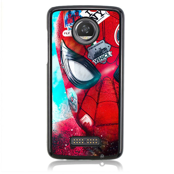 Spiderman 2019 B0395 Motorola Moto Z2 Play Case