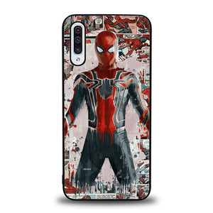 Spiderman Comic B0396 Samsung Galaxy A50 Case
