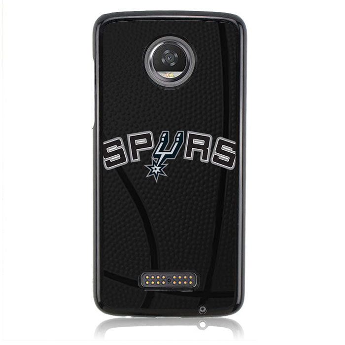 Spurs Ball B0398 Motorola Moto Z2 Play Case