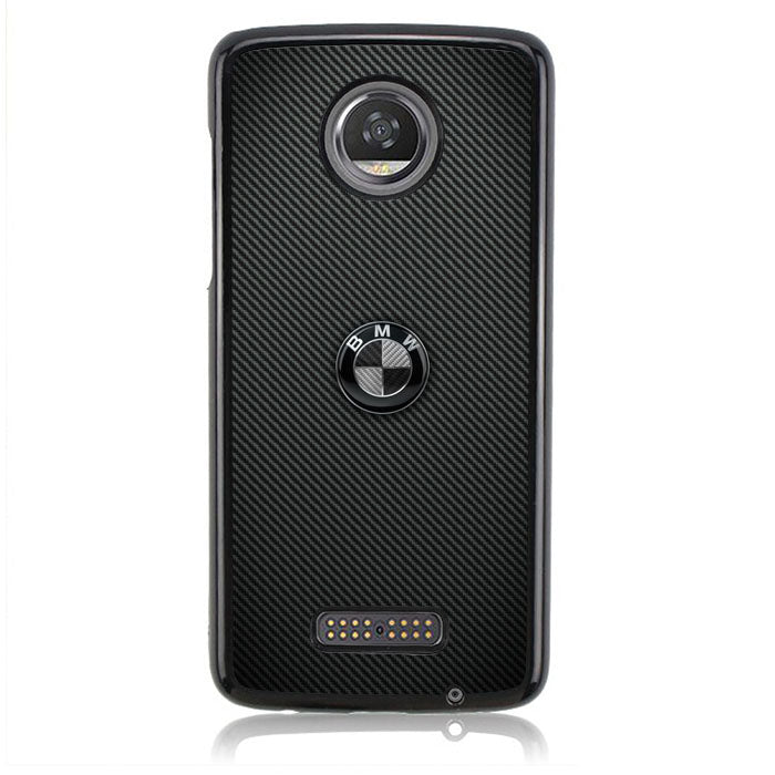 BMW Logo Carbon B0426 Motorola Moto Z2 Play Case
