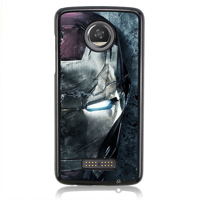 Captain America B0533 Motorola Moto Z2 Play Case