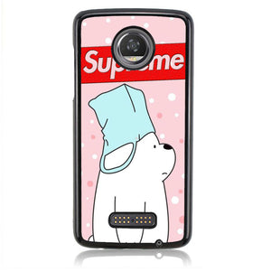 Supreme Bear B0586 Motorola Moto Z2 Play Case