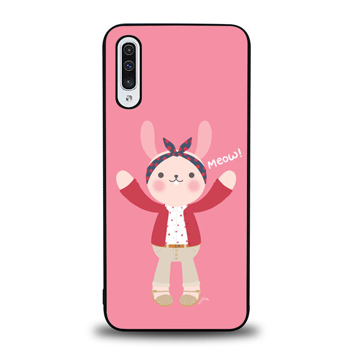 The Pink Rabbits B0591 Samsung Galaxy A50 Case