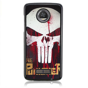 The Punisher Comics FJ0409 Motorola Moto Z2 Play Case