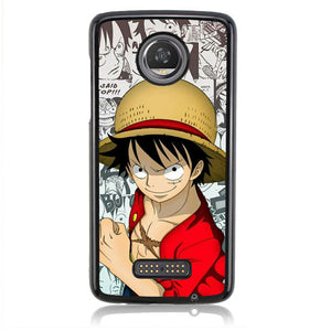 One Piece Luffy comis FJ0589 Motorola Moto Z2 Play Case