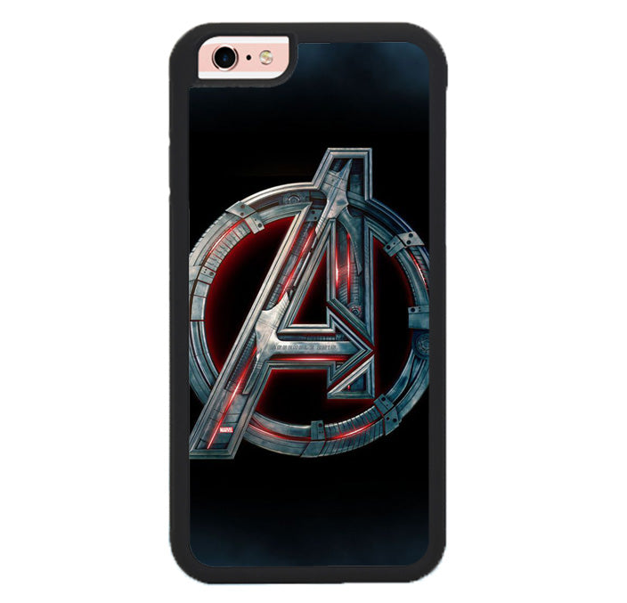 Avengers Logo FJ0705 Samsung iPhone 6, 6S Case