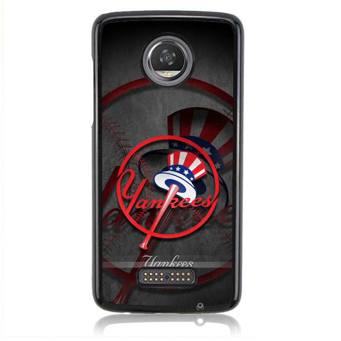 Beautiful New York Yankees Wallpaper FJ0459 Motorola Moto Z2 Play Case