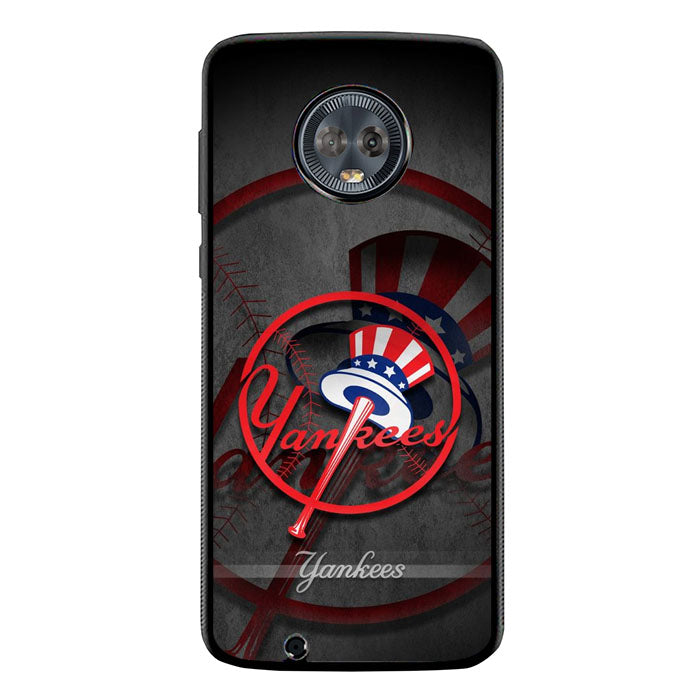 Beautiful New York Yankees Wallpaper FJ0459 Motorola Moto G6 Case