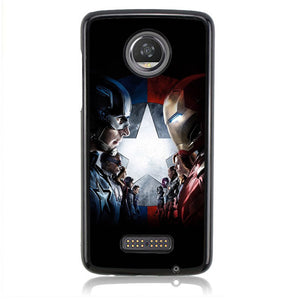 Civil War FJ0768 Motorola Moto Z2 Play Case