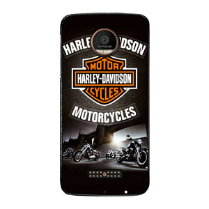 Logo Harly Davidson FJ0883 Motorola Moto Z Force Case