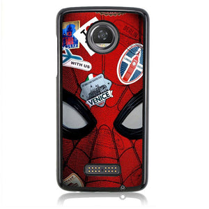 Spiderman Far From Home FJ0960 Motorola Moto Z2 Play Case