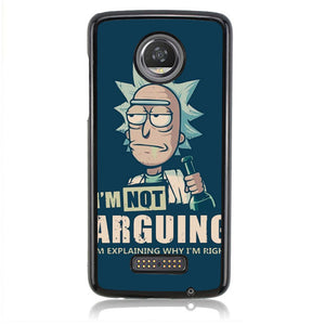 Rick And Morty Art FJ1022 Motorola Moto Z2 Play Case
