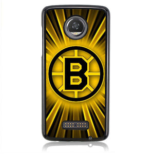 Boston Bruins FJ10260 Motorola Moto Z2 Play Case