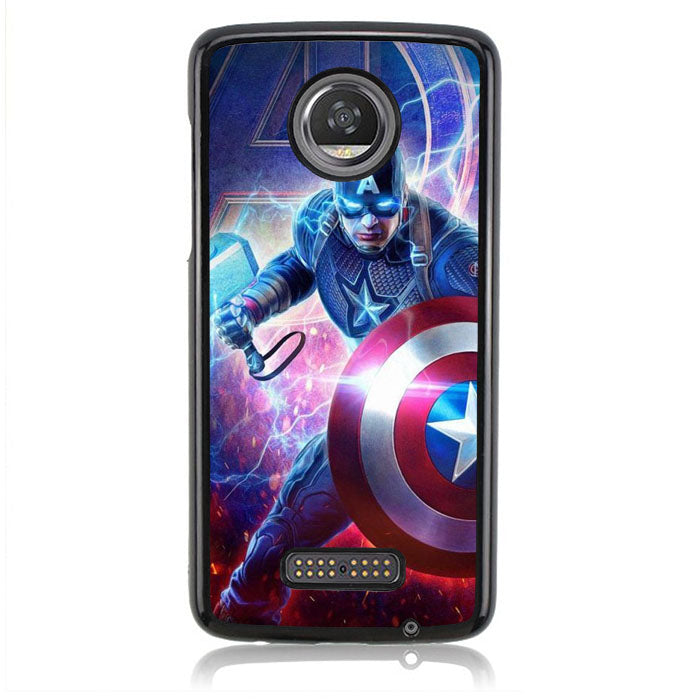 Captain America FJ1038 Motorola Moto Z2 Play Case