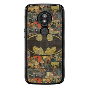 Logo Batman FJ1076 Motorola Moto E5 Play / Moto E Play (5th Edition) / Moto E5 Cruise Case