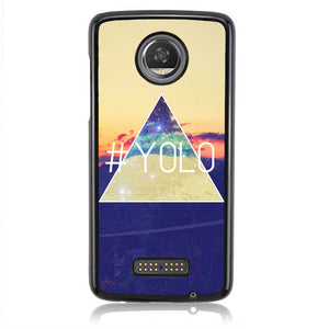 YOLO Retro H0011 Motorola Moto Z2 Play Case