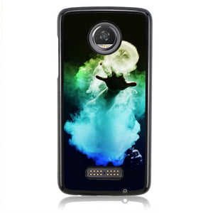 Cloud Trickers H0013 Motorola Moto Z2 Play Case