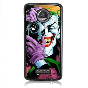 Joker Photo Potrait H0018 Motorola Moto Z2 Play Case