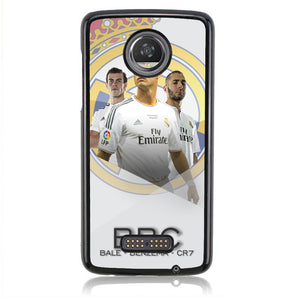 BBC Real Madrid H0032 Motorola Moto Z2 Play Case