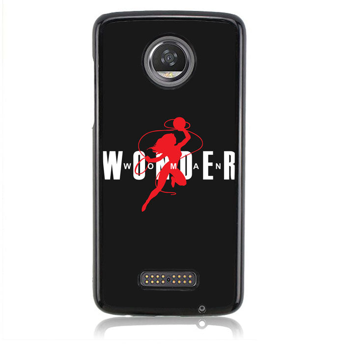 Wonder Woman Air Jordan Q0211 Motorola Moto Z2 Play Case