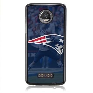 Patriots Logo Super Bowl Q0225 Motorola Moto Z2 Play Case
