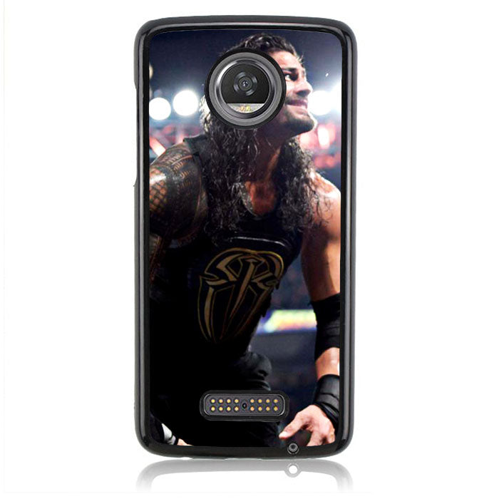 Why Won't You Cheer for Roman Reigns Q0242 Motorola Moto Z2 Play Case