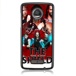The Hounds Of Justice Shield Q0244 Motorola Moto Z2 Play Case