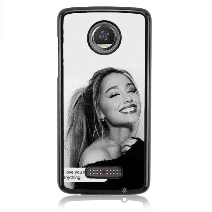 Ariana Grande Quotes Q0275 Motorola Moto Z2 Play Case