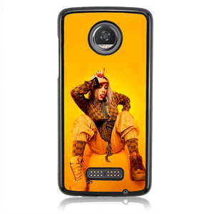 The Trademarks Of Billie Eilish Style Q0291 Motorola Moto Z2 Play Case
