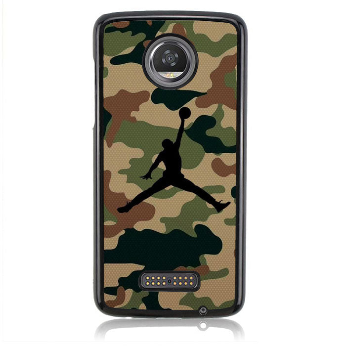 Air Jordan Camo Army Q0298 Motorola Moto Z2 Play Case