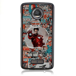 Iron Man In Magazine Q0304 Motorola Moto Z2 Play Case