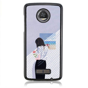 TUMBLR Q0306 Motorola Moto Z2 Play Case