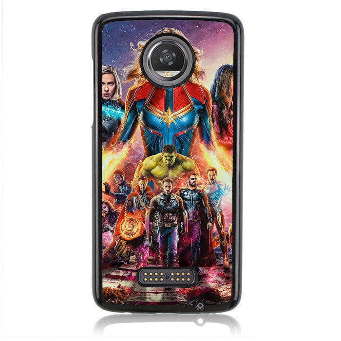 Avengers Endgame Wallpaper Q0306 Motorola Moto Z2 Play Case