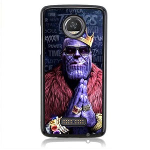 Thanos Big Purple Q0308 Motorola Moto Z2 Play Case