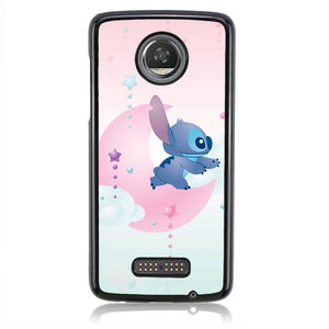 Stich Moon Q0319 Motorola Moto Z2 Play Case