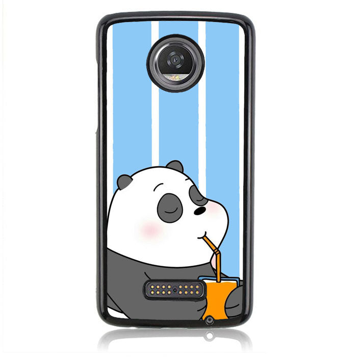 BARE BEAR BLUE Q0332 Motorola Moto Z2 Play Case