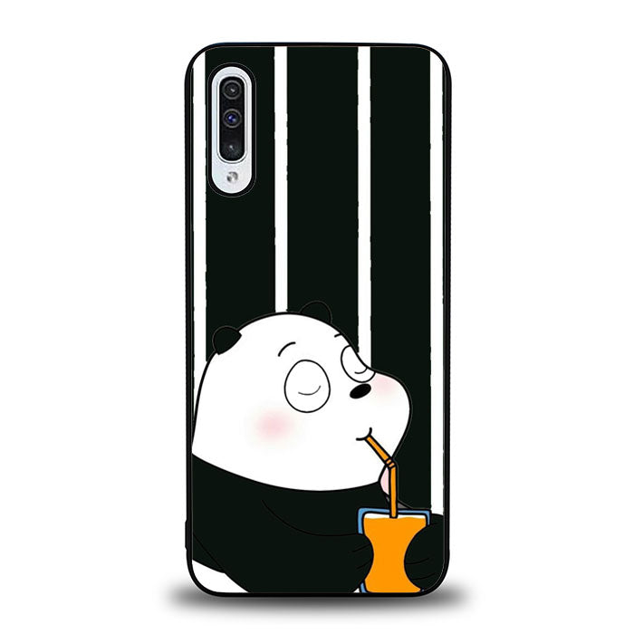 BARE BEAR B&W Q0333 Samsung Galaxy A50 Case