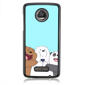 BARE BEAR Q0337 Motorola Moto Z2 Play Case