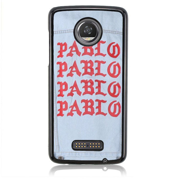 YEZZY PABLO DENIM J0184 Motorola Moto Z2 Play Case