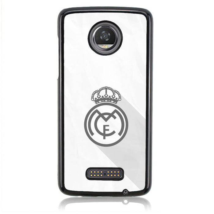 REAL MADRID WHITE J0189 Motorola Moto Z2 Play Case