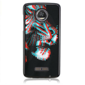 BURLON TIGER ART J0202 Motorola Moto Z2 Play Case